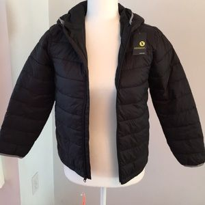 NWT kids 6/7 Xersion puffer coat